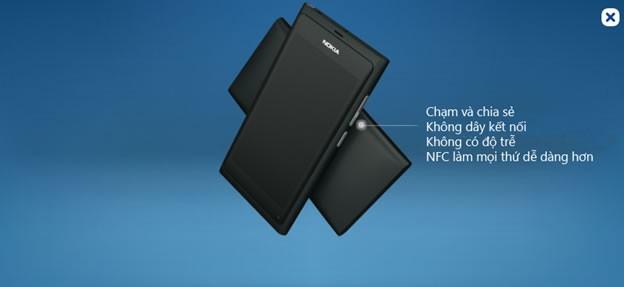 nokia n9 - công nghệ NFC