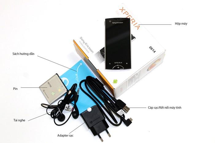 Bộ bán hàng chuẩn của Sony Ericsson Xperia Ray