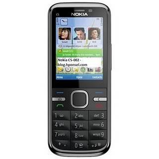 Nokia C5 - 00.2 có thiết kế dạng thanh khá bắt mắt
