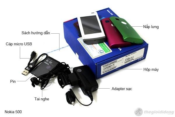 Bộ bán hàng chuẩn của Nokia 500