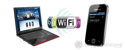 Chia sẻ Wifi với Galaxy Y