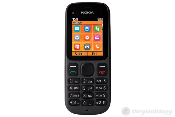Nokia 100 có màn hình 65.000 màu sống động