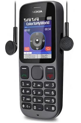 Nokia 101 với tay nghe tặng kèm