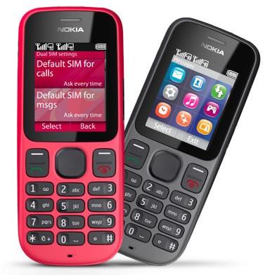 Nokia 101 - 2 sim 2 sóng tháo lắp nhanh chóng