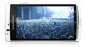 Xperia Arc S có nhiều ứng dụng để chọn