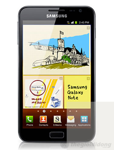 Điện thoại Samsung Galaxy Note N7000