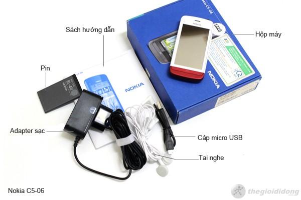 bộ bán hàng chuẩn Nokia C5-06