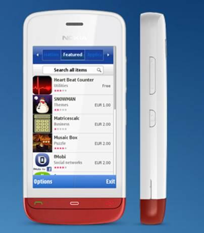 Nokia C5-05 hỗ trợ wifi tốc độ cao