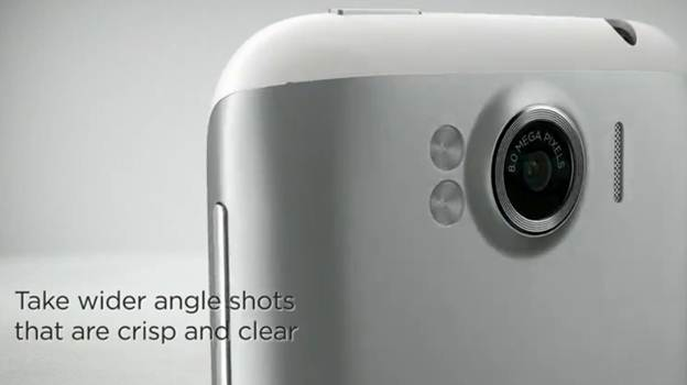 HTC Sensation XL - camera 8mp