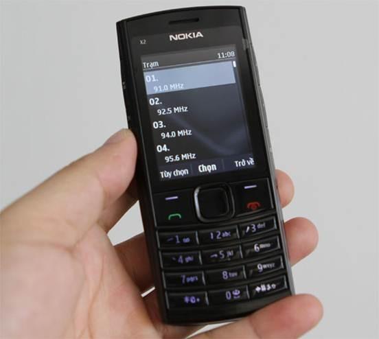 Bật FM không dùng tai nghe trên Nokia X2-02