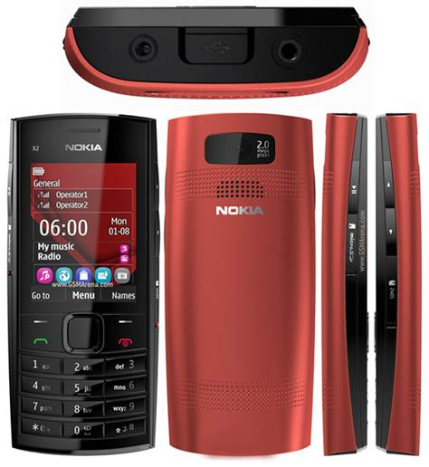 Nokia X2-02 với thiết kế chuyên dụng để trải nghiệm nhạc số