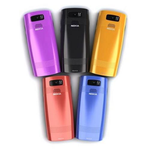 Nokia X2-02 trẻ trung với 5 màu sắc khác nhau
