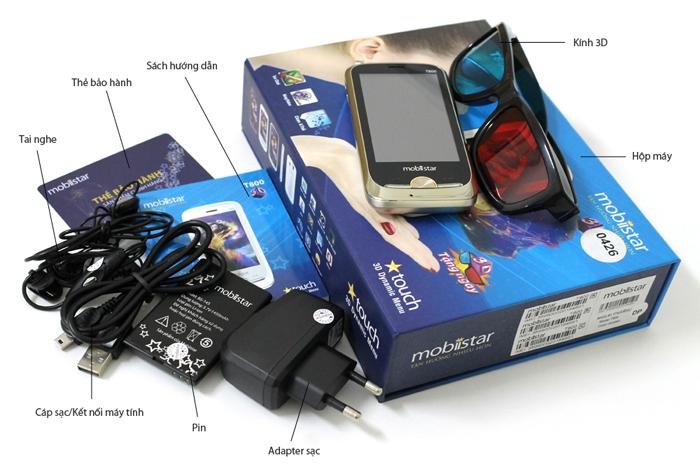Bộ bán hàng chuẩn của Mobistar T800
