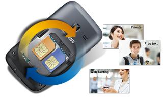 Samsung GALAXY Y DUOS với thiết kế 2 SIM
