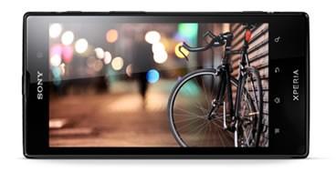 Xperia Ion có màn hình 4.6 inches