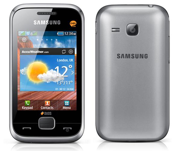 Samsung  C3312 điện thoại cảm ứng giá rẻ của Samsung