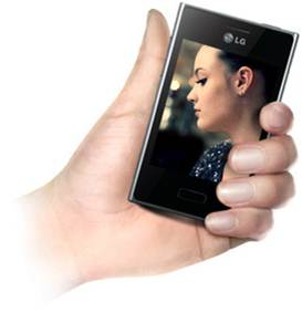 Thiết kế đẹp mắt của LG Optimus L3