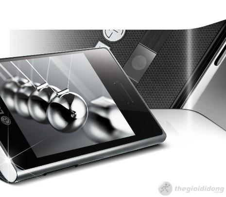 Góc độ sắc nét của LG Optimus L3 400