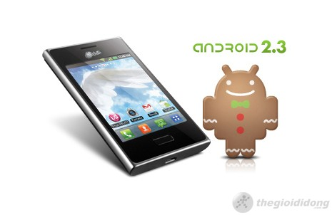 LG Optimus L3 E400 chạy nền tảng android 2.3 Gingerbread
