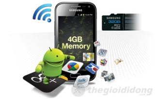 Galaxy Ace 2 có bộ nhớ trong 4Gb và hỗ trợ thẻ nhớ ngoài đến 32GB