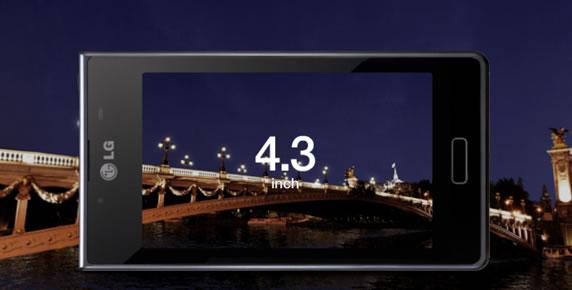 Trải nghiệm màn hình rộng 4.3 inch