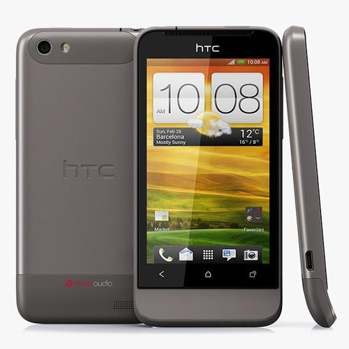 Thiết kế gọn gàng sang trọng của HTC One V