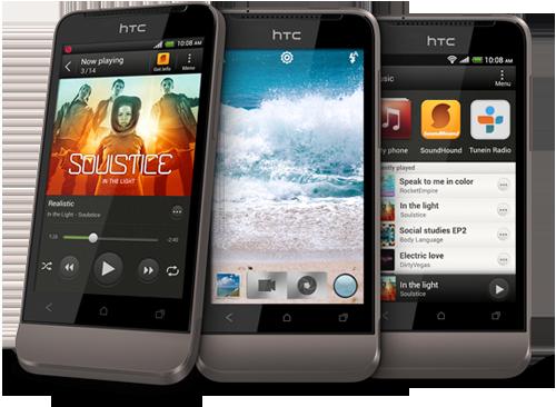 Lướt web nhanh với HTC One V
