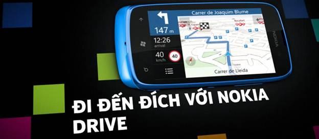 Nokia Lumia 610 - nokia drive