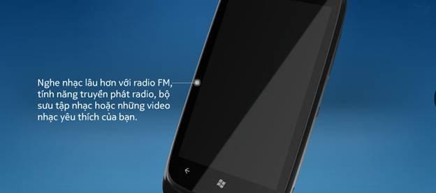 Lumia 610 - nghe nhạc hay