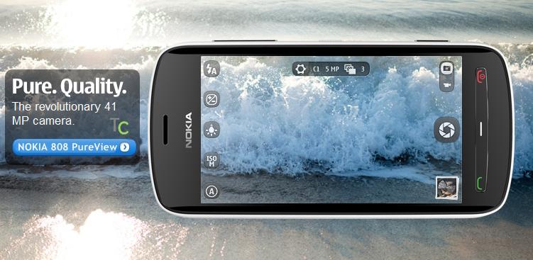 Nokia 808 hỗ trợ quay video Full HD 1080p và zoom 4Z