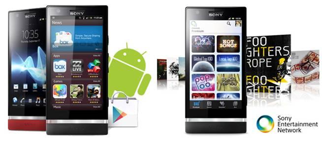 Hàng ngàn ứng dụng thú vị từ Android market và Sonyđang chờ đợi bạn