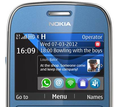 Nokia 302 3.5G Wifi