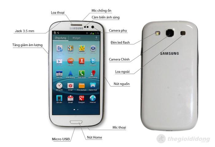 Các tính năng của Samsung Galaxy S3 I9300