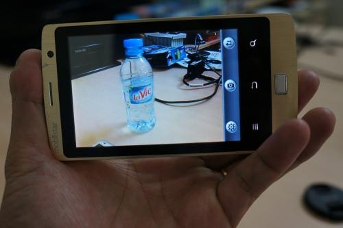 Camera cho chất lượng ảnh chụp rõ nét cùng nhiều tùy chọn chụp ảnh