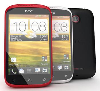 Giao diện đẹp mắt của HTC Desire C