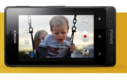 Xperia Go có camera 5.0 megapixel