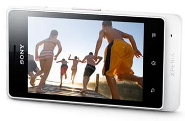 Sony Xperia Go có màn hình đẹp ấn tượng