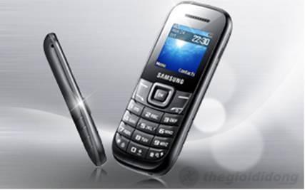 Samsung E1200 là điện thoại bình dân  ăn khách nhất của Samsung