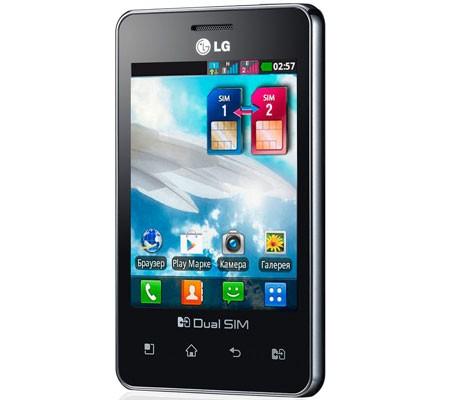 Optimus L3 sở hữu màn hình 3.2