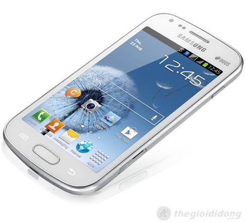 Samsung Galaxy S Duos S7562 kế thừa những tinh hoa