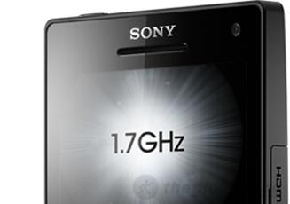 Xung  xử lý của Sony Xperia SL lên tới 1.7 GHz