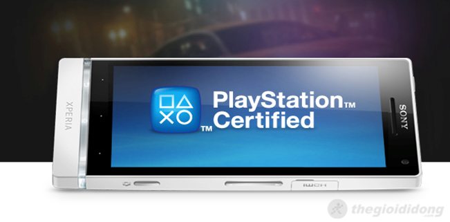 Playstation  Certified mang đến cả thế giới giải trí trênSony Xperia SL