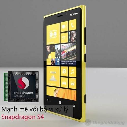 Lumia 920 vô cùng mạnh mẽ