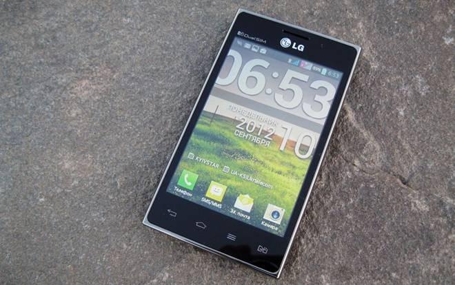 LG Optimus L5 Dual E615 với màn hình 4 inches cùng công nghệ IPS