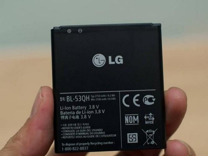 Pin Lion được làm từ chất liệu mới của LG cho thời gian sử dụng tốt nhất