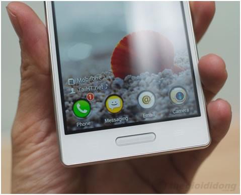 LG Optimus L9 có màn hình khá sắc nét