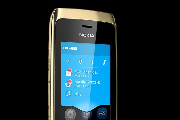 Điểm mới của HĐH S40 Touch là khung Notification