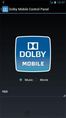 Công nghệ Dolby mang lại chất lượng âm thanh tuyệt vời
