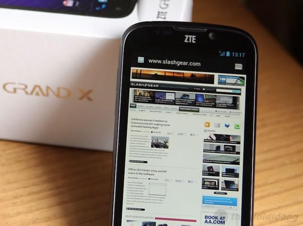 Lướt web dễ dàng và tiện lợi trên ZTE-U V970M