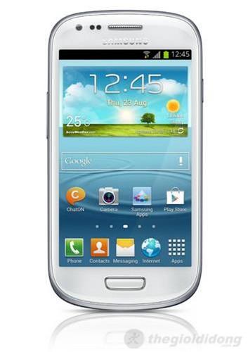 Galaxy S III mini với thiết kế bo tròn tinh tế